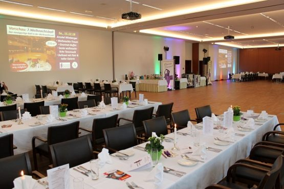 Mauerbach Festsaal Sitzplätze und Tanzfläche