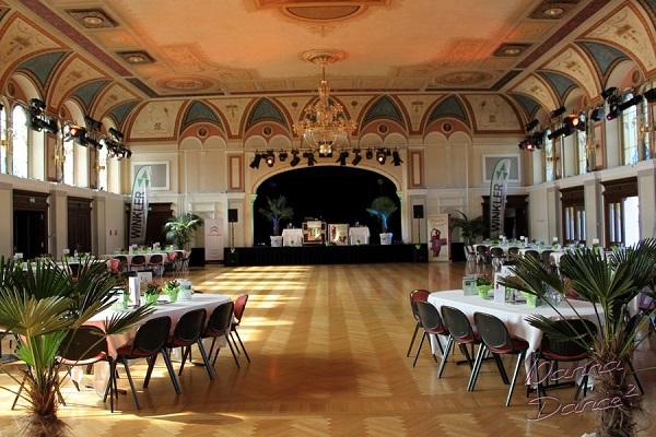 Casino Baden Blick in den Festsaal