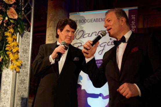 Gesangseinlage Werner Wöhrer und Gunther Frank am Blumenball