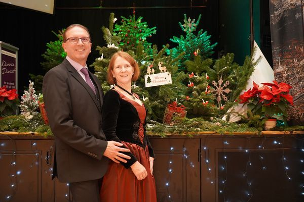 Weihnachtsball Norbert und Karin Falkner