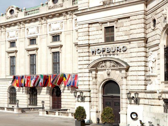 Hofburg Außenansicht Haupteingang