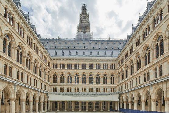 Wiener Rathaus Innenhof
