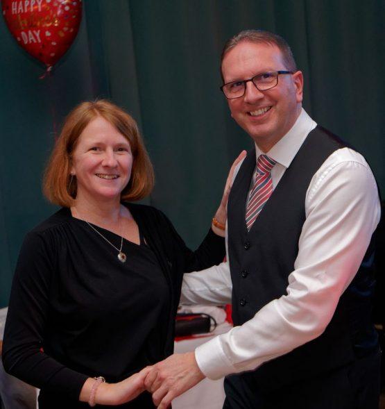 Norbert und Karin Falkner beim Tanzen